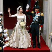 Kronprinz Frederik von Dänemark und Prinzessin Mary