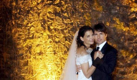 Katie Holmes und Tom Cruise.