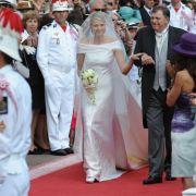 Albert von Moncaco und Charlene Wittstock