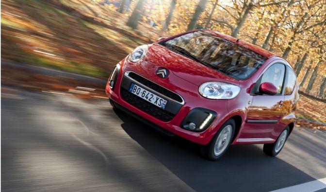 Der Citroën C1 macht hauptsächlich den europäischen Markt unsicher und wird mit Platz sechs belohnt.
