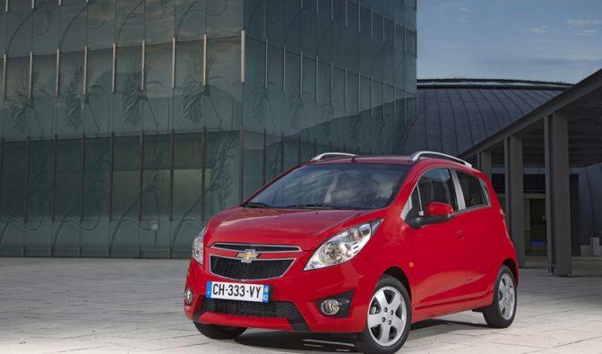 Auf Platz zehn der beliebtesten Neuwagen unter 10.000 Euro ist der Chevrolet Spark. Der Kleinstwagen des US-amerikanischen Herstellers wurde in Korea entwickelt. (Foto)