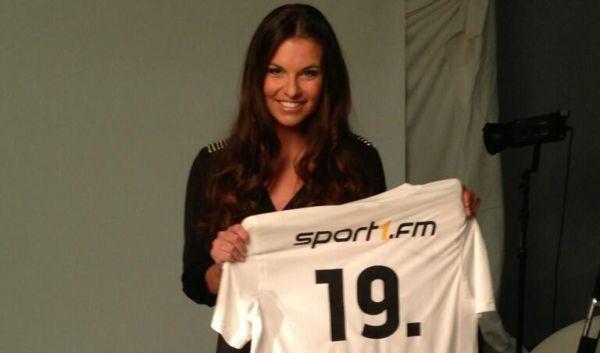 Seit Juli 2013 arbeitet sie bei Sport1 als Moderatorin, Field Reporterin und Beitragsmacherin.[2] (Foto)