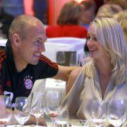 Arjen und Bernadien Robben
