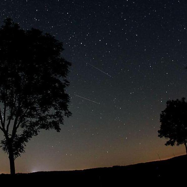 Blitzschnelle Sternschnuppen über Deutschland (Foto)