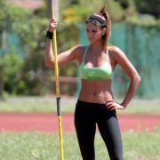 Die Schönheit von Franco Leryn, der Speerwerferin aus Paraguay, wurde schon mehrfach ausgezeichnet. Unter anderem wurde sie bei den Olympischen Spielen 2008 in Peking zur schönsten Sportlerin gewählt.