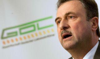 GDL-Chef Claus Weselsky verhandelt erneut mit der Bahn. (Foto)