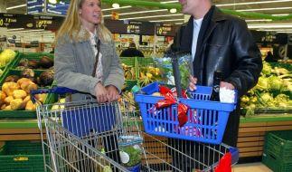 Im Supermarkt flirten? Kein Problem, wenn Sie es richtig anstellen. (Foto)