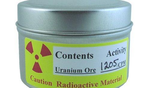 radioaktives Uranerz