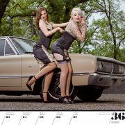 Der Dodge Coronet 440 aus dem Jahr 1968 steht auch zwei Damen sehr gut.