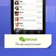 Asien Messanger-Star ist WeChat (Weixin). Die App des chinesischen Unternehmens Tencent kann Textnachrichten, Sprach- und Videonachrichten versenden.