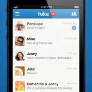 Hike ist eine kostenlose App für Android, iOS und Windows Phone und versendet Nachrichten und verschickt Fotos, Sprachaufnahmen und Videos.
