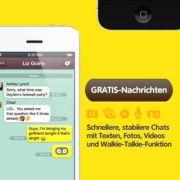 KakaoTalk ist eine kostenlose App für iOS, Android, Windows und Blackberry.