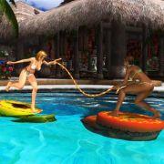 Das Spiel «Dead or Alive Xtreme Beach Volleyball» überzeugt vor allem mit Ballphysik. Volleyball und andere sportliche Aktivitäten lassen die heißen Girls ins Schwitzen kommen.