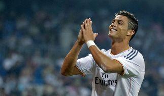 Kann sich jetzt auch zwei Mal am Tag eine warme Mahlzeit leisten: Cristiano Ronaldo. (Foto)