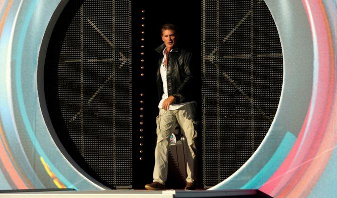 David Hasselhoff hat genug von Promi Big Brother - er zieht aus. (Foto)