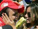 Ihm scheint sein Ritual (siehe Textstrecke) kein Glück zu bringen: Felipe Massa hat seit 2008 kein Rennen mehr gewonnen. (Foto)