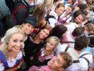 Wie gewohnt proppenvoll: Das 180. Oktoberfest hat begonnen. (Foto)