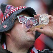 Prost: Pro Bayern-Heimspiel werden 52.500 halbe Liter verkauft.