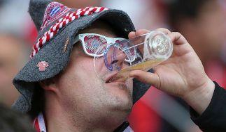 Prost: Pro Bayern-Heimspiel werden 52.500 halbe Liter verkauft. (Foto)