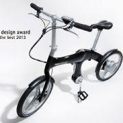 Der Rahmen des E-Bikes gewann Anfang 2013 den Red Dot Design Award für seine geraden Linien.