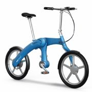 Das E-Bike Mando Footloose gibt es in vier stylishen Farben: weiß, blau, grau und schwarz.
