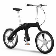Durch sein futuristisches Design ist das E-Bike ein Hingucker auf den Straßen.