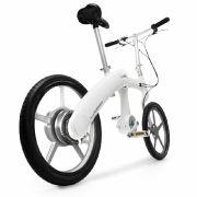 Das High-Tech-Fahrrad gibt es nur ohne Gepäckträger.