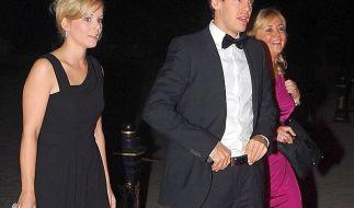 Laureus-Sport-Award 2012: Eine der wenigen Gelegenheiten, wo Vettel seine Freundin Hanna der Öffentlichkeit zeigte. (Foto)