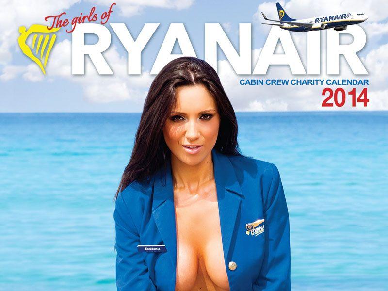 Nackte stewardessen