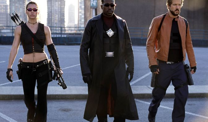 Eine der ersten Verfilmungen eines Marvel-Comic war «Blade», indem Wesley Snipes 1998 die Hauptrolle übernahm. (Foto)