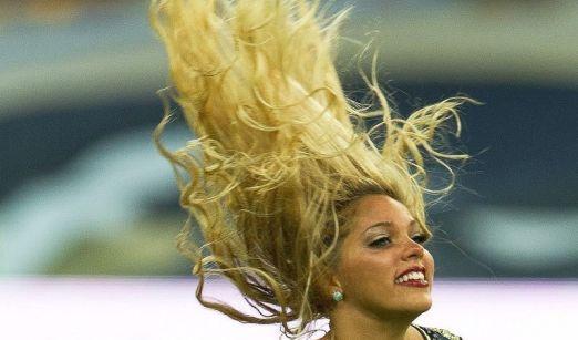 Cheerleader St. Louis Rams (American Football) (Foto)