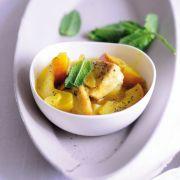 Geminztes Curryhühnchen