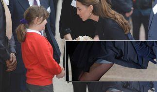 Diva-like: Kate Middletons luftiger Wohltätigkeits-Auftritt (Foto)