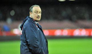 Steht weiterhin in der Kritik: Real-Trainer Rafa Benitez gerät immer mehr unter Druck. Nach der 0:4 Derby-Pleite gegen den FC Barcelona, geht nun auch das peinliche Pokal-Aus auf seine Kappe. (Foto)