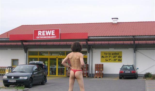 Ob beim Einkaufen ... (Foto)