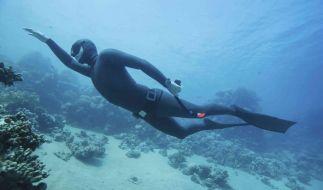 Eins werden mit dem Wasser ist das Ziel vieler Apnoe-Taucher. (Foto)