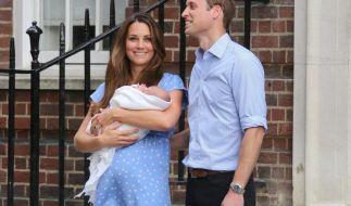 William und Kate beherrschten auch 2013 das royale Treiben. (Foto)