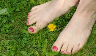 Zeigt her eure Füße! Die Länge der Zehen verrät dem geübten Auge so einiges über die Qualitäten im Bett... (Foto)