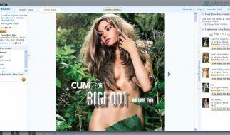 Die Buchcover lassen vermuten, worum es in der «Bigfoot»-Reihe geht. (Foto)