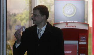 Die Eurozone wächst: Lettland wird 18. Mitglied (Foto)