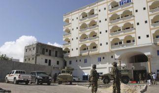 Zehn Tote bei Anschlag auf Hotel in Somalia (Foto)
