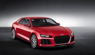 Audi rüstet Coupé-Studie Sport Quattro mit Laserlicht aus (Foto)