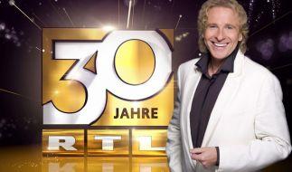 Thomas Gottschalk führt durch die Jubiläumsshow «30 Jahre RTL». (Foto)