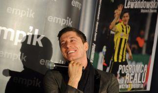 Endlich darf er wechseln: Robert Lewandowski geht zum FC Bayern. (Foto)