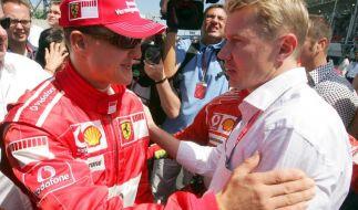 Mikka Häkkinen wünscht seinem ehemaligen Formel-1-Konkurrenten Michael Schumacher ein Wunder. (Foto)