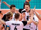 Volleyballer für WM qualifiziert - 3:0 gegen Türkei (Foto)