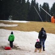 Schnee nicht einmal in Winterberg (Foto)
