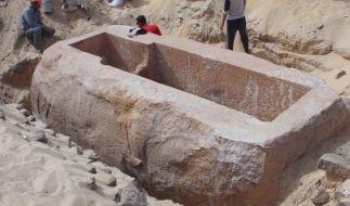Pharaonengrab aus der 13. Dynastie entdeckt (Foto)