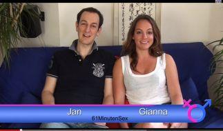 Jan Winter und Gianna Chanel haben weder Scheu vor der Kamera noch vor Sex-Themen aller Art. (Foto)