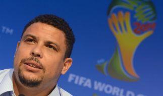 WM-Botschafter Ronaldo: Verstehe Blatter-Kritik nicht (Foto)